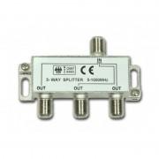 Spliter 3 Căi pentru Cablu TV, Frecvența 5-1000 Mhz, Sistem Prindere