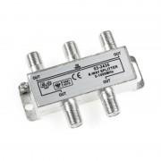 Spliter 4 Căi pentru Cablu TV, Frecvența 5-1000 Mhz, Sistem Prindere