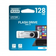 Stick de Memorie USB GOODRAM Flash Drive, 128GB, USB 2.0, Model UTS2, Negru
