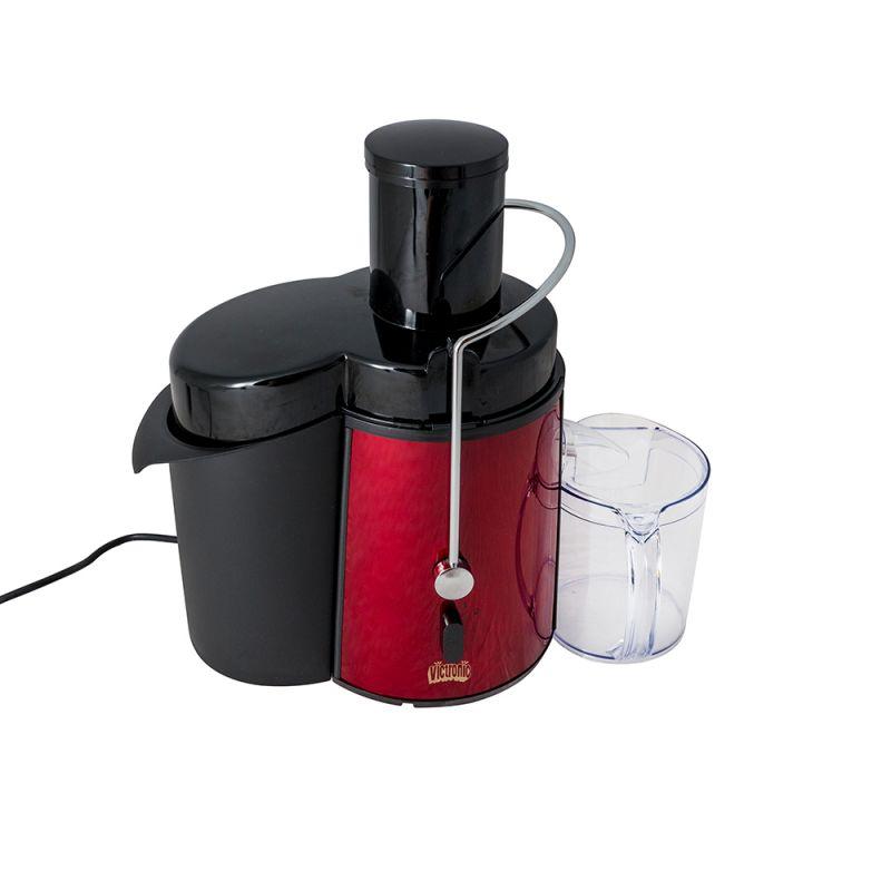 Storcător de Fructe şi Legume Power Juicer Victronic, 700 W, 2 Viteze, Roşu/Negru