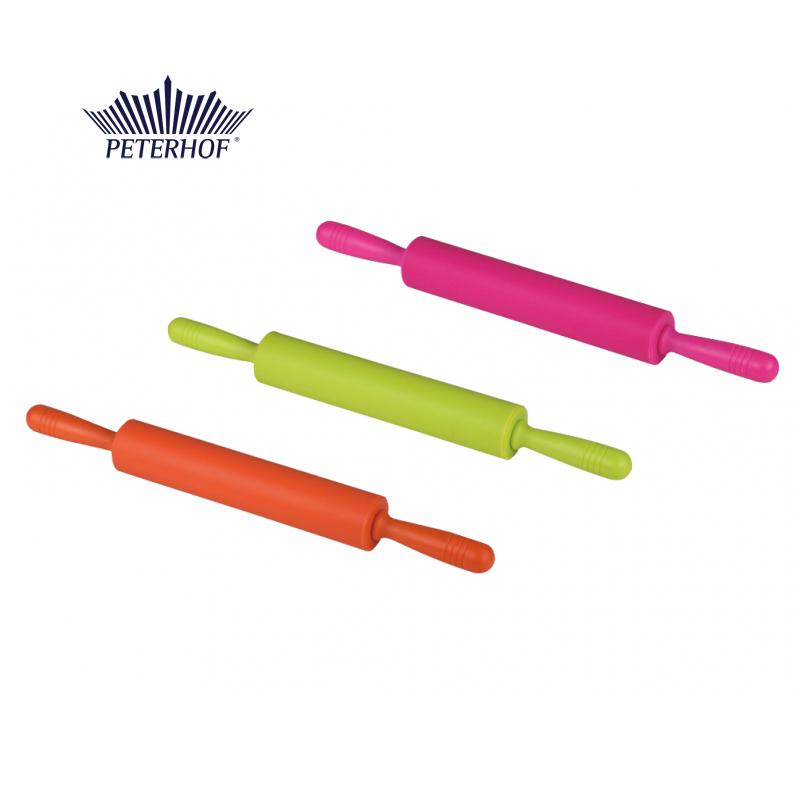 Sucitor pentru Aluat din Plastic cu Silicon Peterhof, 52 cm, Antibacterial, Diverse Culori