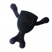 Suport Telefon cu Încărcare Wireless Qi Welike, Model Universal, Cablu USB, Aplicare Ventilație, Negru