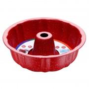 Tavă pentru Copt Formă Guguluf Peterhof, 25 cm, Oţel Carbon, Non-Stick, Roșu