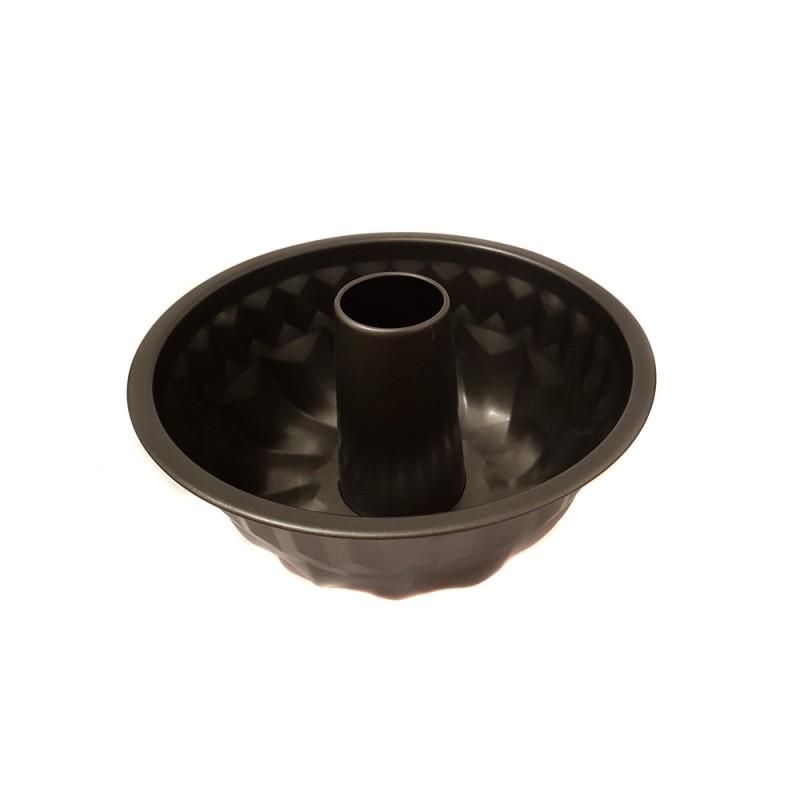 Tavă pentru Copt Formă Guguluf din Oţel Carbon Grunberg, 24 cm, Teflon