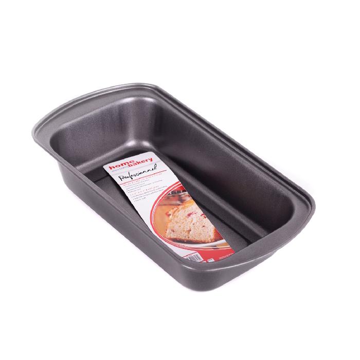 Tavă pentru Copt Pâine Formă Dreptunghiulară din Oţel Carbon DeKassa, Teflon