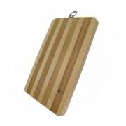 Tocător Dreptunghiular din Bambus Ertone, 20 x 15 cm, Agăţătoare